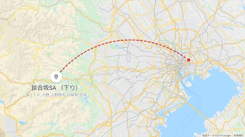 20190427_東京スカイツリー→談合坂SA_R