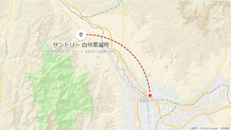 20190428_双葉SA→白州蒸留所_R