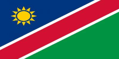 国旗:ナミビア