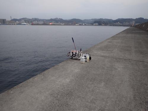 3日の釣り座