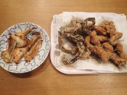 水島イサキ真子_塩焼き