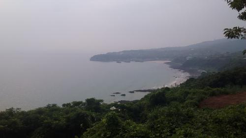 長島から望む東シナ海①