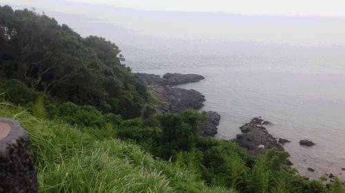 長島から望む東シナ海②