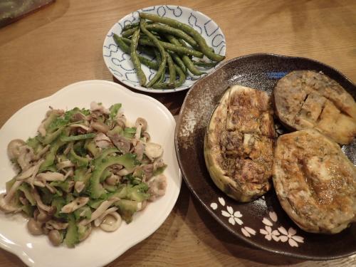 夏野菜自宅料理①
