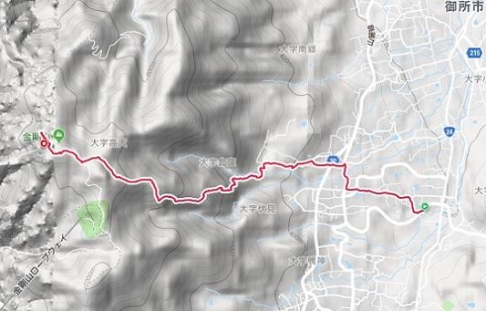 金剛山1908登り