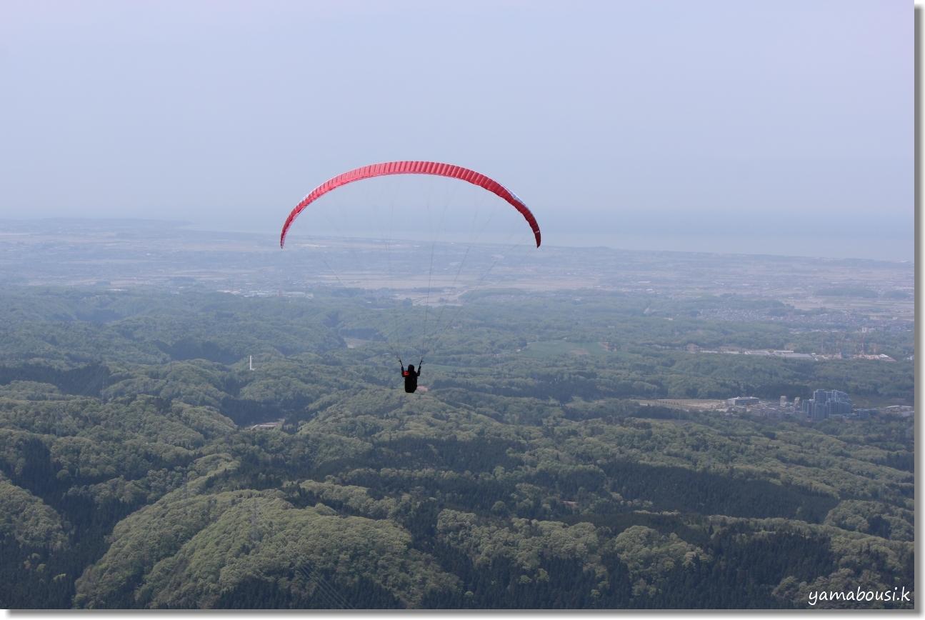 獅子吼高原のパラグライダー 5