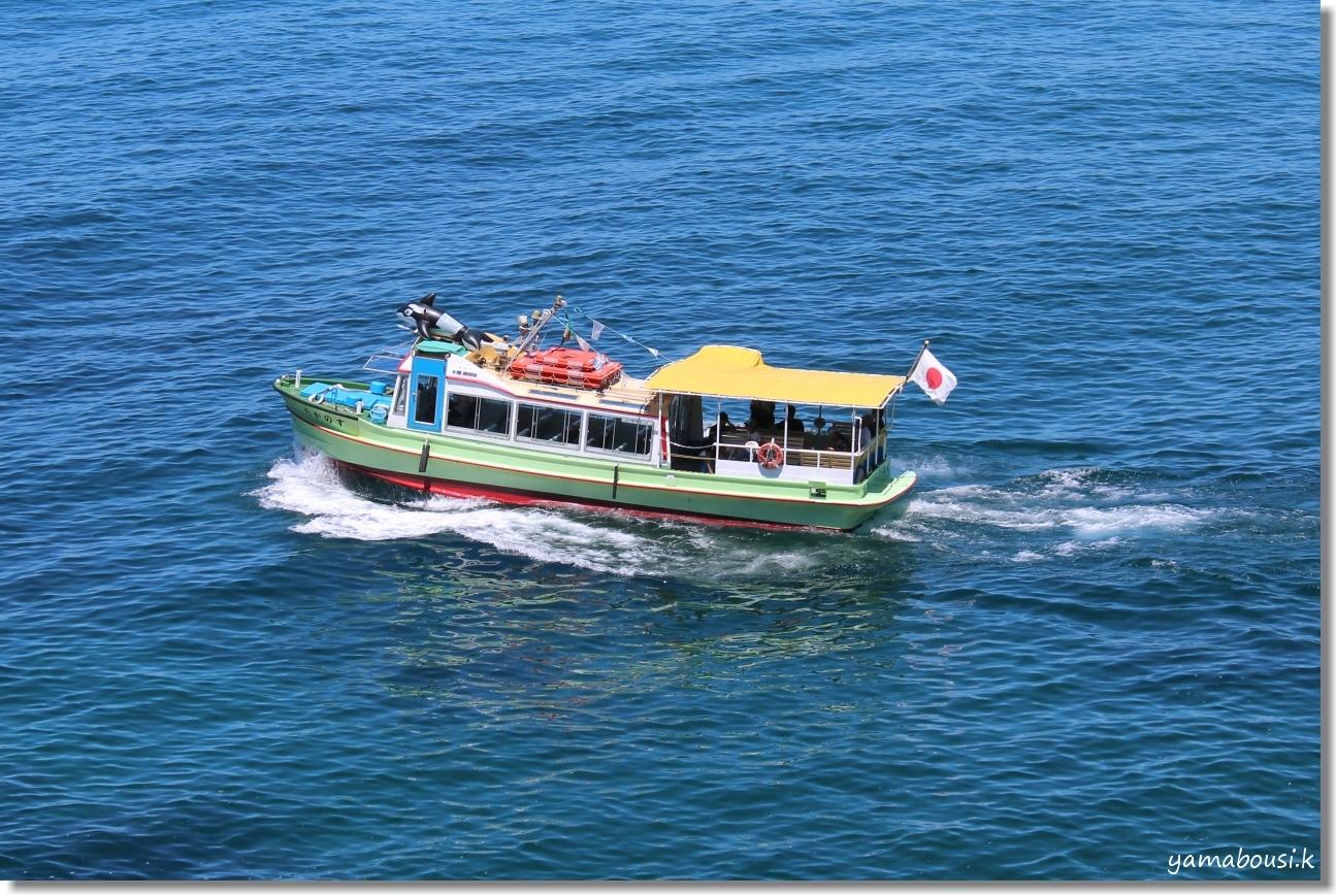 夏の能登半島 遊覧船とオニユリと 2