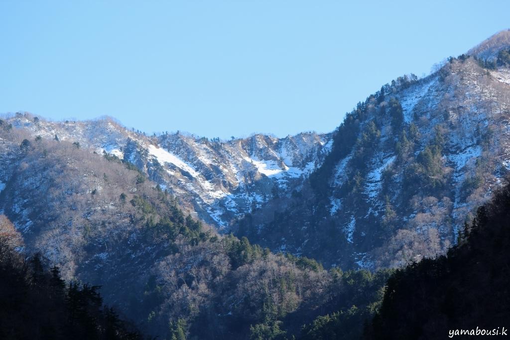 初冬の白山ろく 1