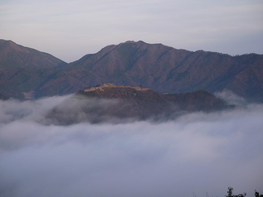 「竹田城(兵庫県朝来市)」藤和峠☆立雲峡から観る!雲海に浮かぶ天空の城