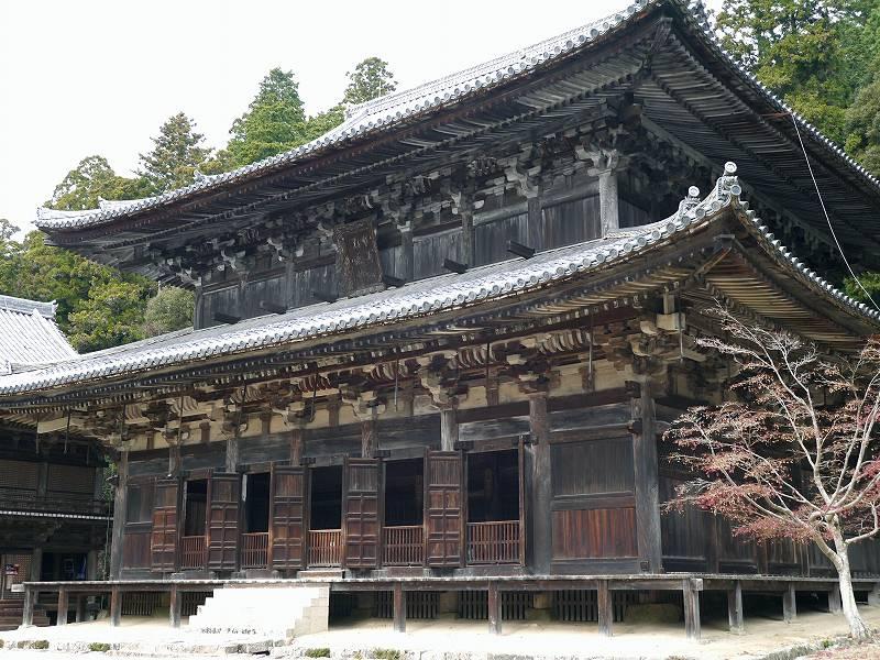 「書写山(兵庫県姫路市)」史跡・文化財が点在☆三つの堂は映画のロケ地!