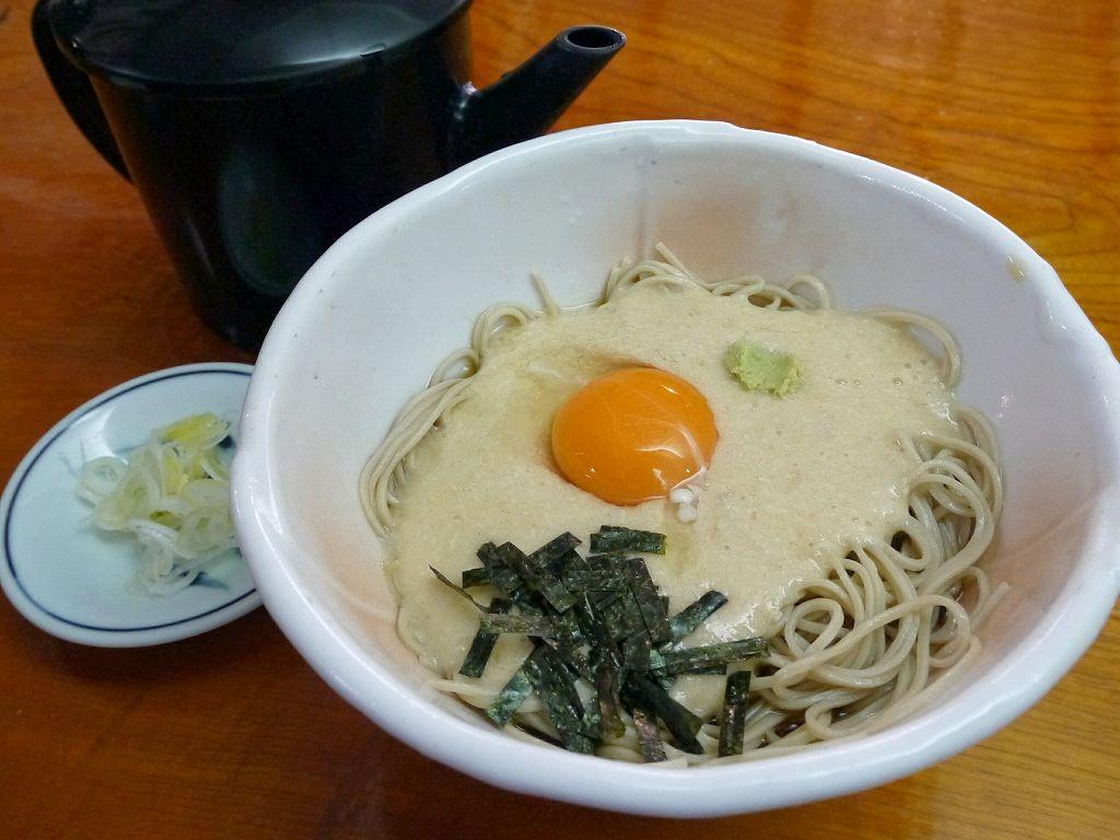 「箱根湯本 はつ花 そば(神奈川県箱根町)」水を使わず卵と自然薯で作る!旨味凝縮のお蕎麦