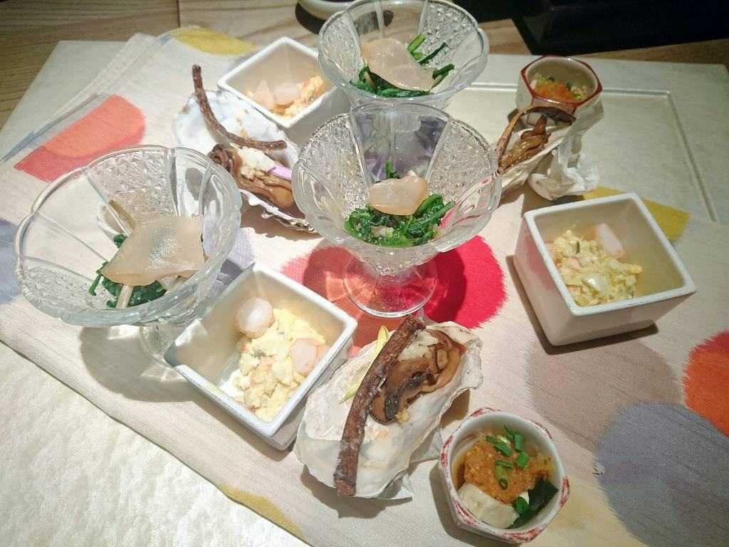 「和食 えん 汐留(港区東新橋)」42階からの東京夜景と美味しいお食事!