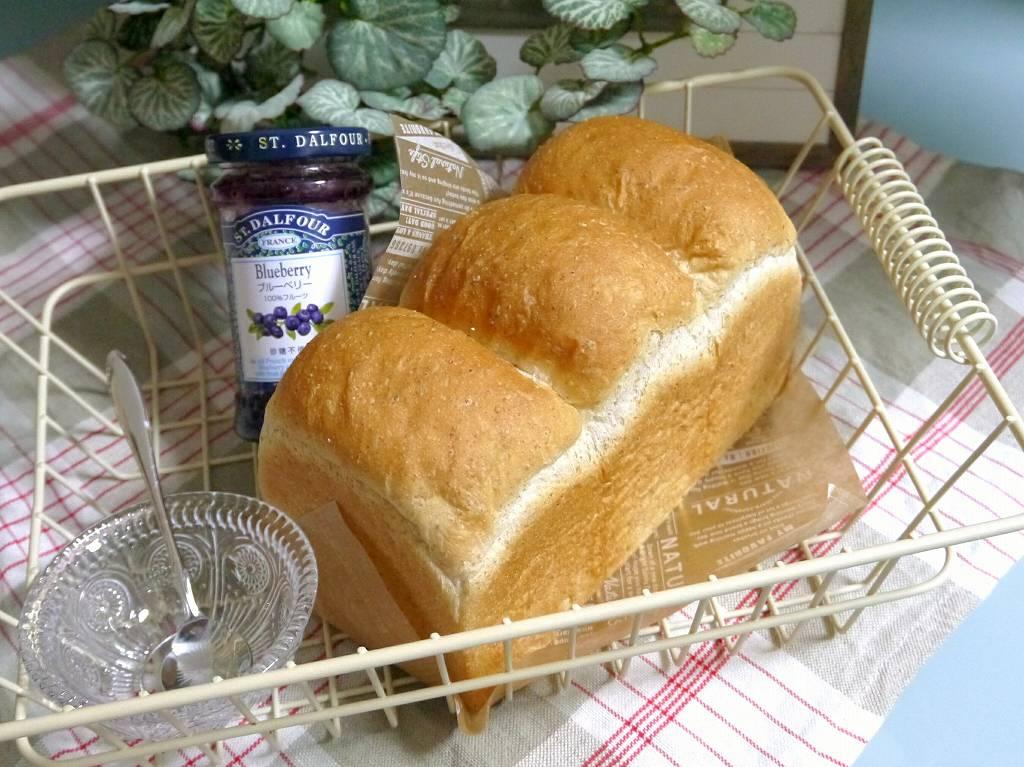 「ライ麦&全粒粉のサンド用パン」の作り方☆ふわふわ香ばしいお食事パン☆サンドイッチにお勧め