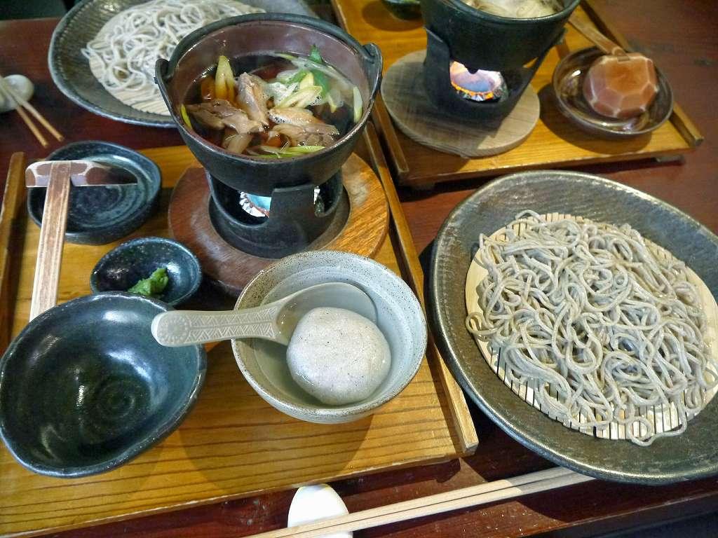 「御蕎麦ちきた(福岡県朝倉市)」手挽きの☆限定!荒挽き蕎麦が人気