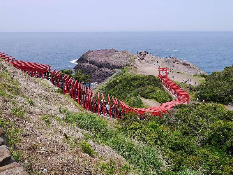 「元乃隅神社(山口県長門市)」沈下橋や棚田も一緒に訪れたい☆世界の絶景!