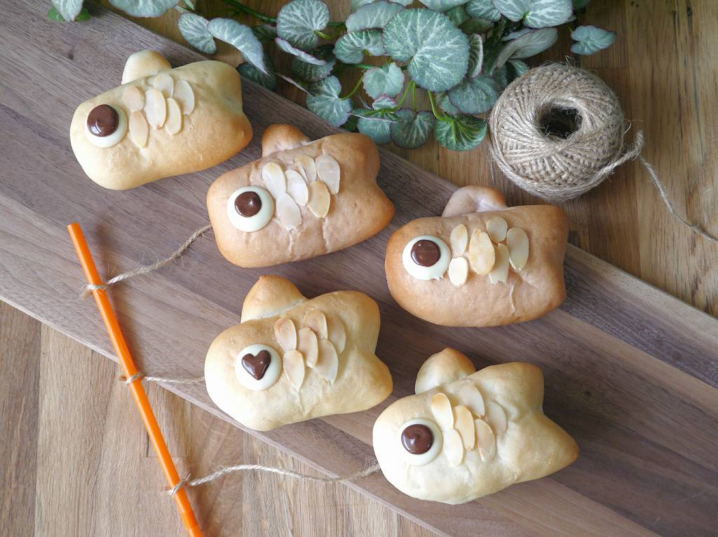 「板チョコこいのぼりパン」の作り方☆こどもの日に!みんな大好きおやつパン