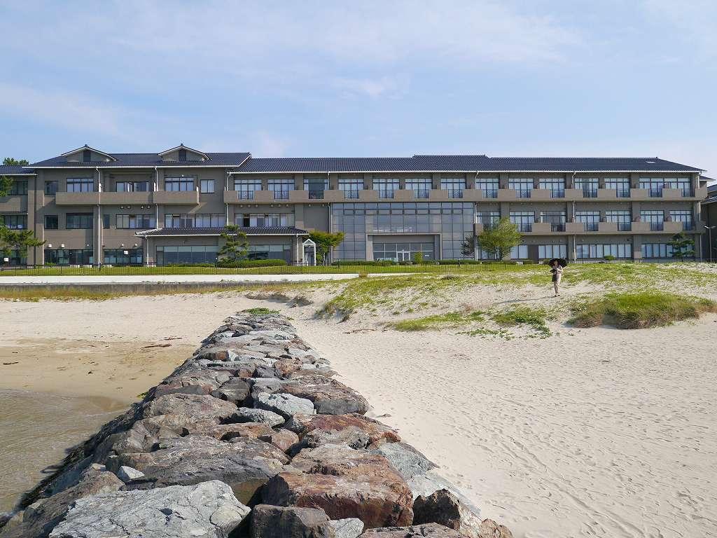 山口県☆萩市のホテル「海が奏でる癒しの宿 リゾートホテル美萩」菊が浜の夕日とパノラマ絶景