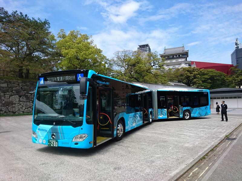 「高速輸送システムBRT」今夏!北九州市でも連接バス運航開始