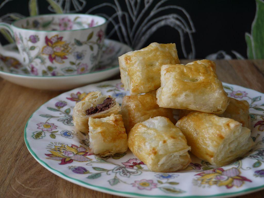 「ひとくちチョコパイ」の作り方☆冷凍パイシートで簡単&美味しい!