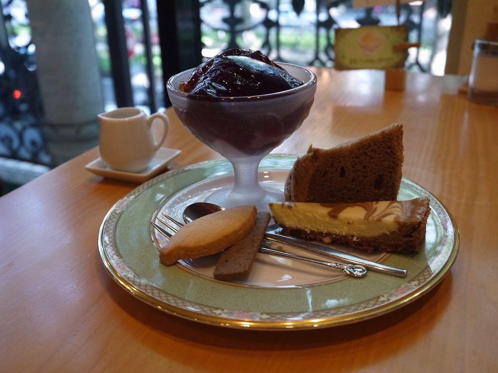 「ガネッシュ ティールーム 定禅寺通店(仙台市青葉区)」こだわりは新茶の紅茶!紅茶スィーツ絶品です。
