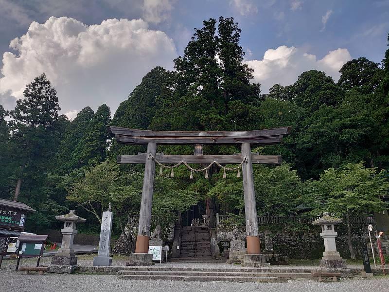 「戸隠神社 中社(長野県長野市)」天の岩戸開きの神々をお祀りする神社