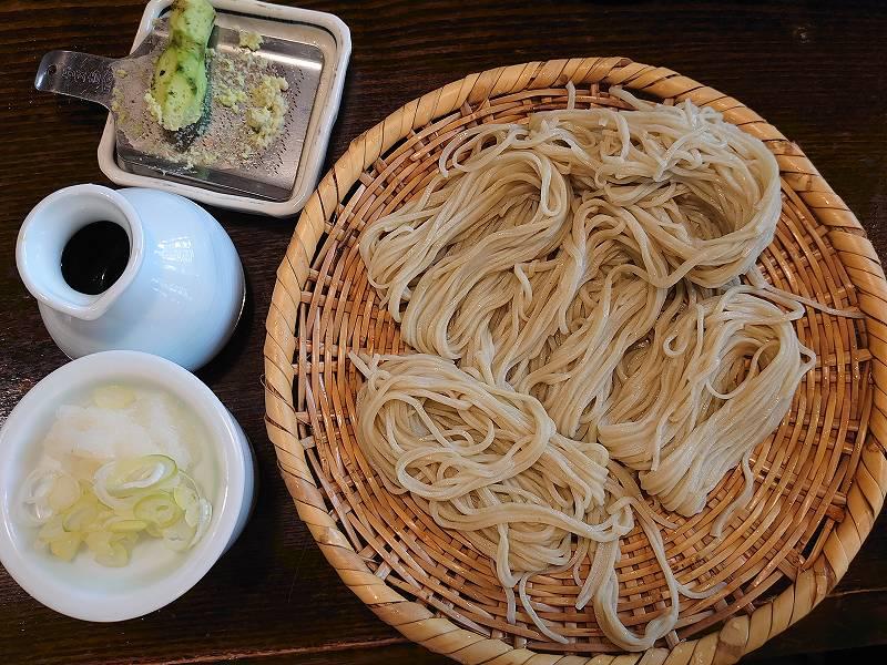 「うずら家(長野県長野市)」戸隠そばの名店!!そばがき&天ぷらも絶品です。