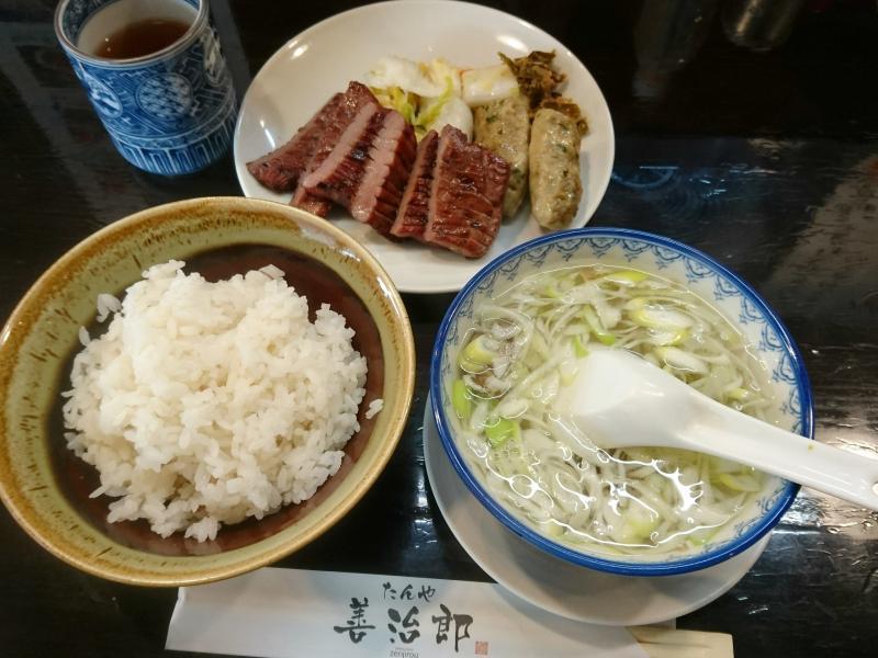 「たんや 善治郎(仙台市青葉区)」地元で人気の牛タンは塩にこだわりが!