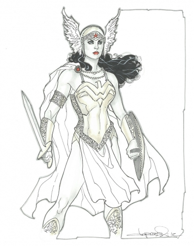 Aaron Lopresti Wonder Woman