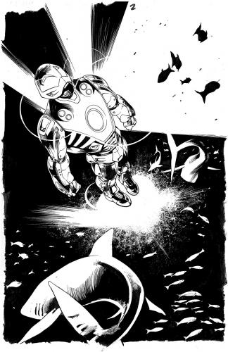 Bryan Hitch Ultimates 2 page1