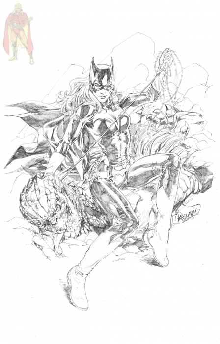 Carlo Bat girl