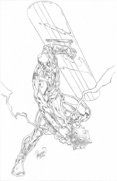 Carlo Silver Surfer pencil