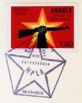 アンゴラ・独立記念切手