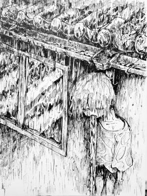 ドレイン 樋の排水