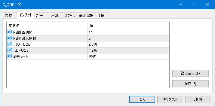 D_QQE:パラメータ説明